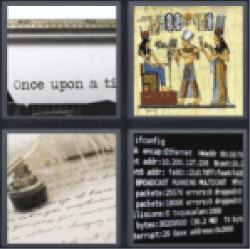 4-pics-1-word-script