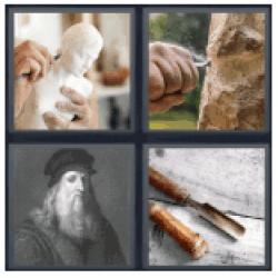 4-pics-1-word-sculptor