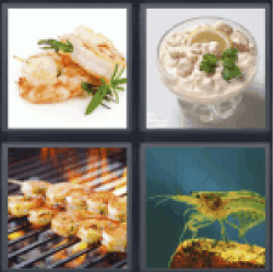 4-pics-1-word-shrimp