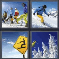 4-pics-1-word-skiing