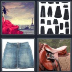 4-pics-1-word-skirt