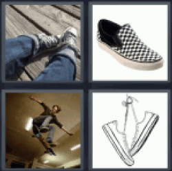 4-pics-1-word-sneaker