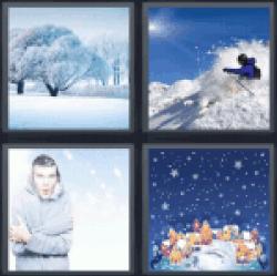 4-pics-1-word-snowy