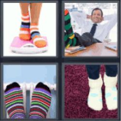 4-pics-1-word-socks