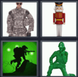4-pics-1-word-soldier