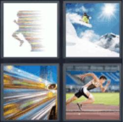 4-pics-1-word-speed