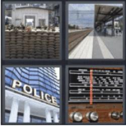 4-pics-1-word-station