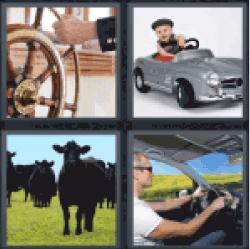 4-pics-1-word-steer