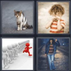 4-pics-1-word-stray