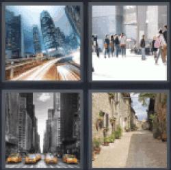 4-pics-1-word-street