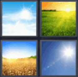 4-pics-1-word-sunny