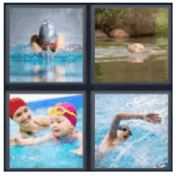 4-pics-1-word-swimming
