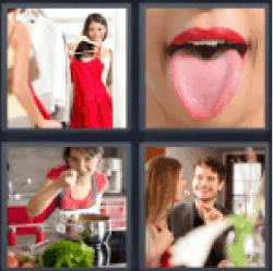 4-pics-1-word-taste
