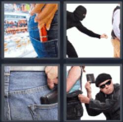 4-pics-1-word-theft