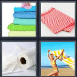 4-pics-1-word-towel