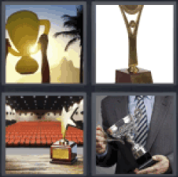 4-pics-1-word-trophy