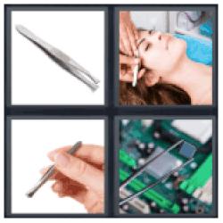 4-pics-1-word-tweezers