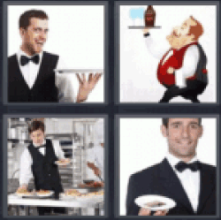 4-pics-1-word-waiter
