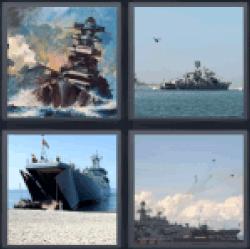 4-pics-1-word-warship