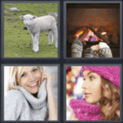 4-pics-1-word-woolly