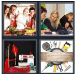 4 pics 1 word carpenter tools