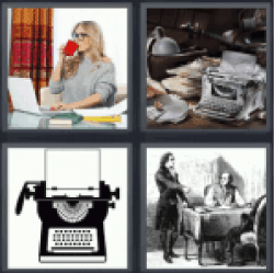 4-pics-1-word-writer