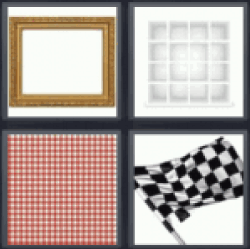 4 pics 1 word checkered flag
