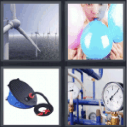4 Pics 1 Word wind power