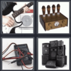 4 pics 1 word electric guitar