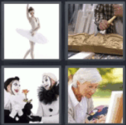 4 Pics 1 Word dancer