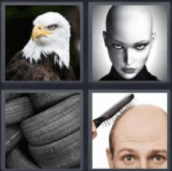 4-pics-1-word-bald