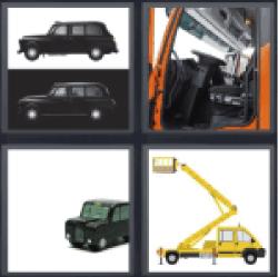 4 Pics 1 Word black car