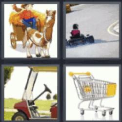 4-pics-1-word-cart