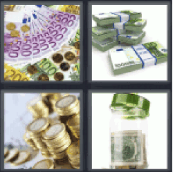 4-pics-1-word-cash