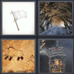 4-pics-1-word-cave