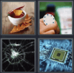 answers 4 pics 1 word