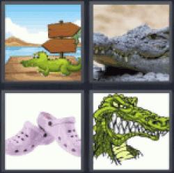 4-pics-1-word-croc