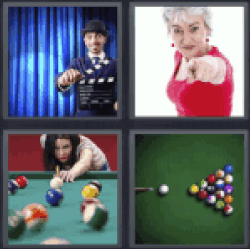 4 Pics 1 Word billiard