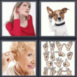 4-pics-1-word-deaf