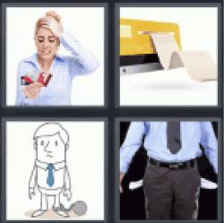 4-pics-1-word-debt