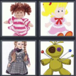 4-pics-1-word-doll