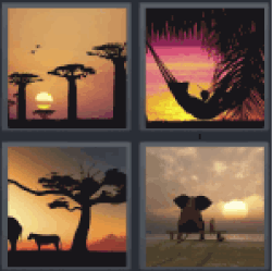 4-pics-1-word-dusk