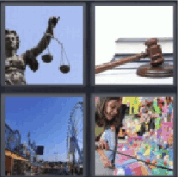 4 pics 1 word scale of justice
