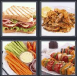 4-pics-1-word-food