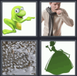 4-pics-1-word-frog