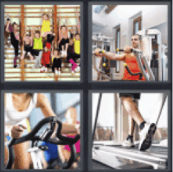 4 Pics 1 Word spinning