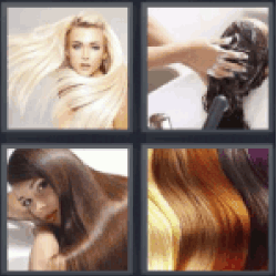 4 Pics 1 Word manes of women