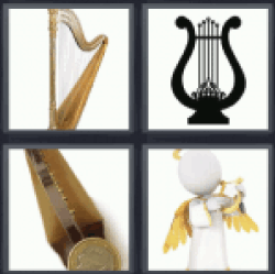 4 Pics 1 Word string musical instrument