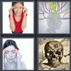 4-pics-1-word-head