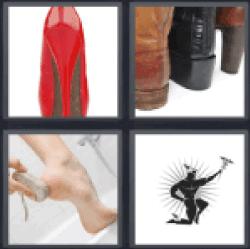 4-pics-1-word-heel